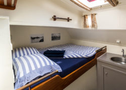 Tweepersoonshut met dubbel bed