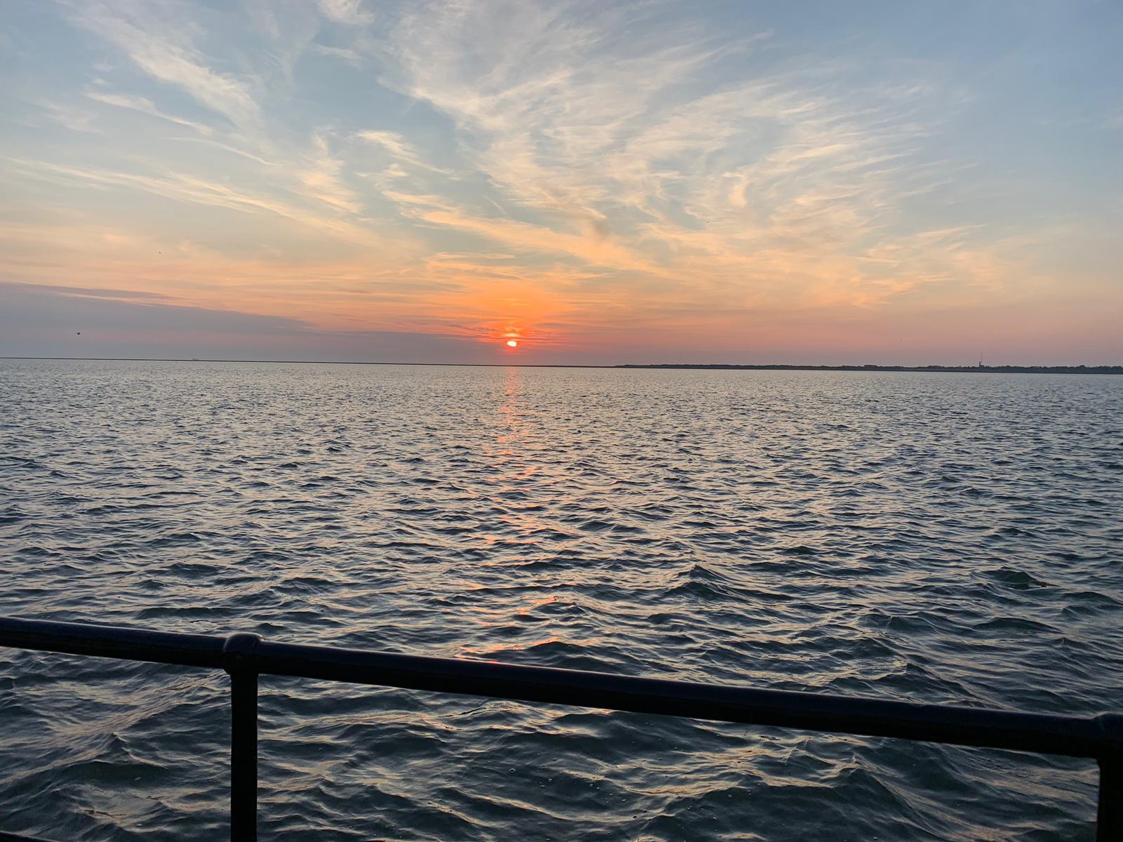 klipper nova cura zonsondergang schiermonnikoog
