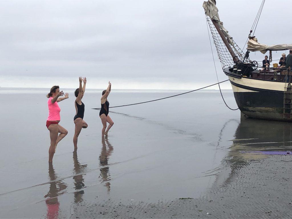 klipper nova cura yoga op de zeebodem