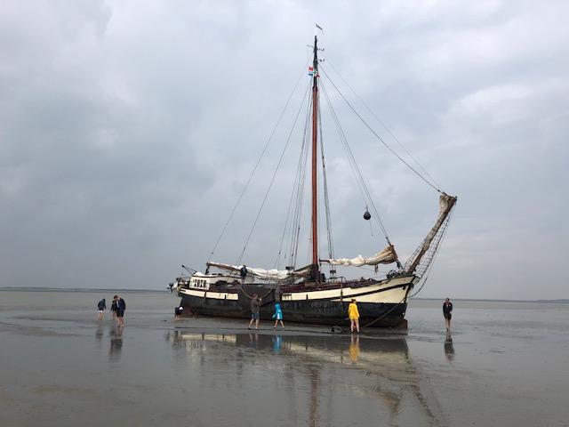 zeilschip klipper nova cura Droogvallen oost wad