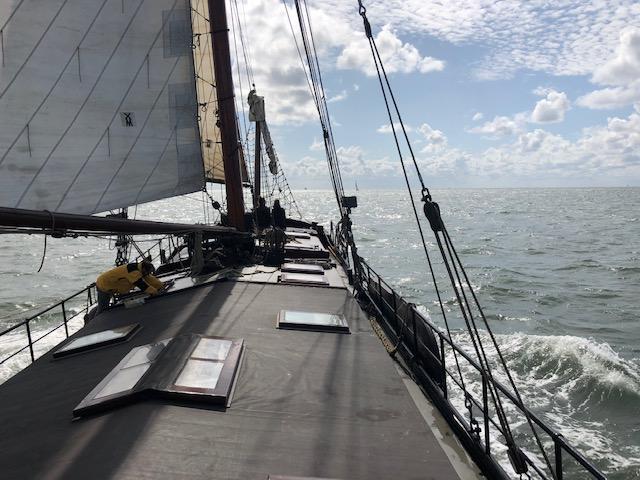 klipper nova cura op de Waddenzee
